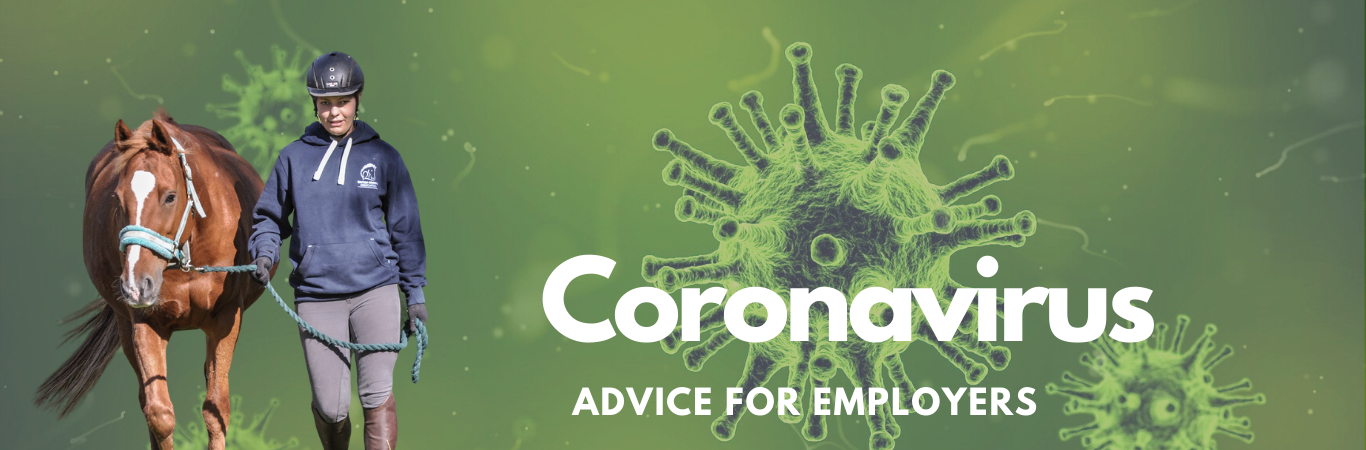 Coranivirus advice for Equestrian Employers